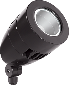 Lflood Led 13w Narrow Spot Reflector Bullet Neutral Bronze Outdoor Lighting Fixture